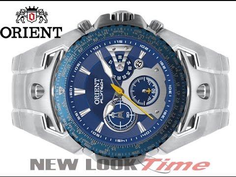 85a1a7b533f Relógio Orient FlyTech Titanium MBTTC006 D1SX - YouTube