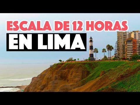Escala en Lima ➡️   salir del aeropuerto en vuelo de conexión