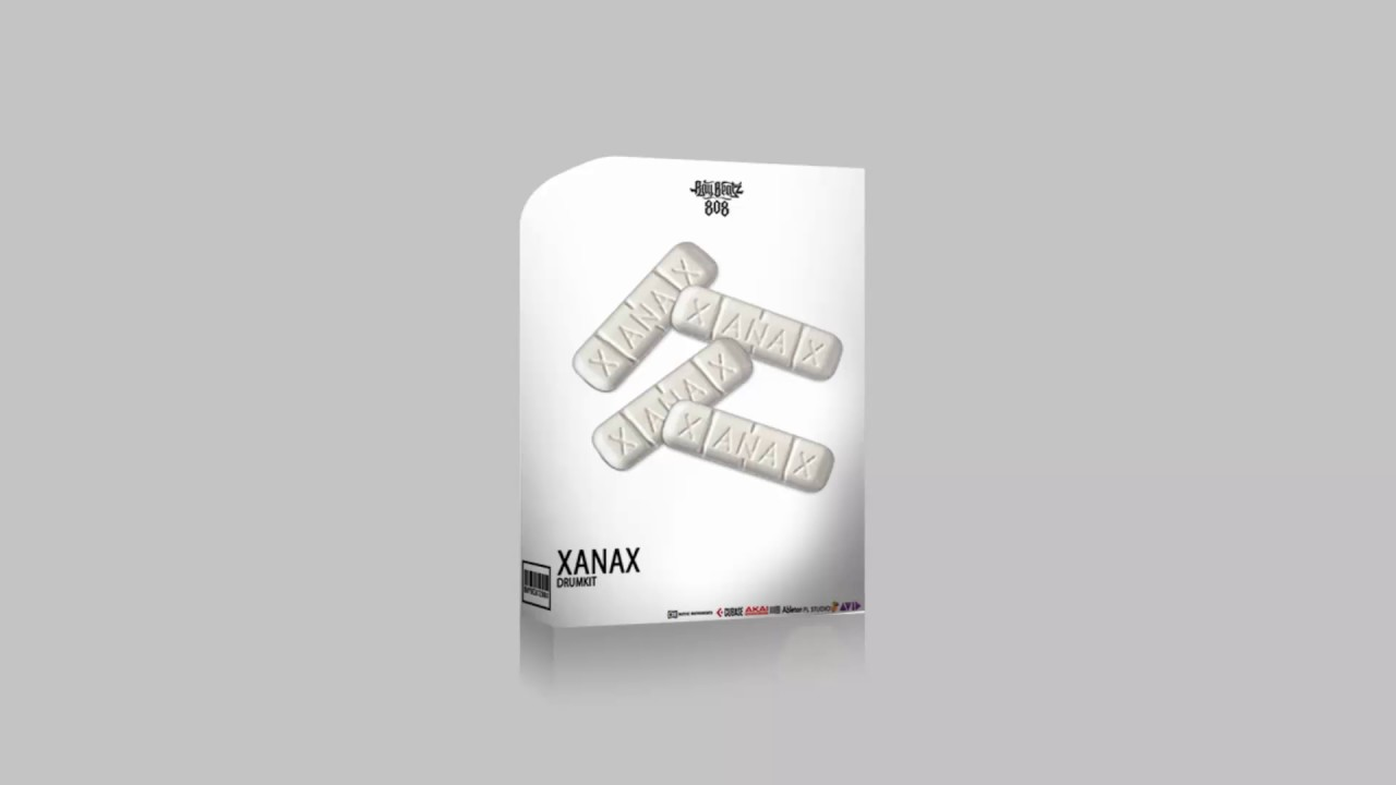 Free Xanax Drum Kit