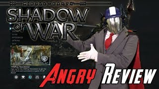 Shadow of War Angry Review
