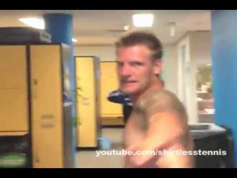 Sam Groth Gets Out Of The Shower  YouTube