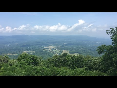 A Drive through Skyline Drive in Shenandoah National Park
