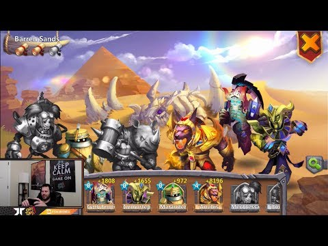 JT's Free 2 Play Evolving Athene + Destiny Anubis Castle Clash
