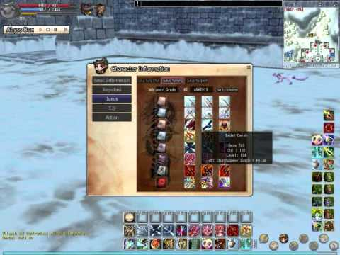 Yulgang Online Skill Spear Yulgang
