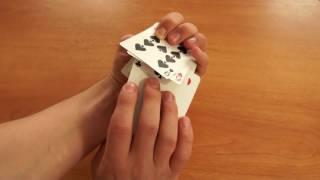 Карточные Тасовки #1: Обучение карточным тасовкам! Обучение Riffle Shuffle