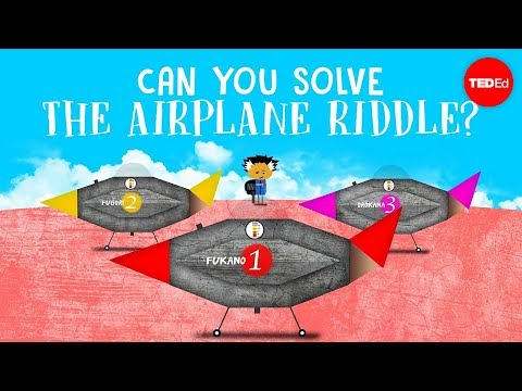 Can you solve the airplane riddle? - Judd A  Schorr