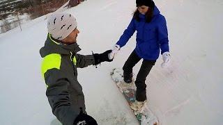 Веселое путешествие №4 # Обучение сноуборд Тюмень