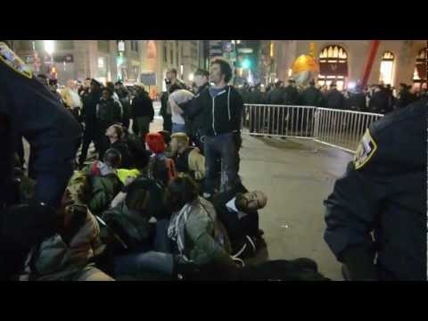 Cecily McMillan injured during OWS, being ignored by NYPD