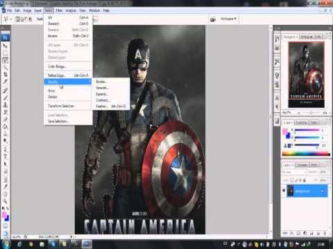 Photoshop CS3 สอนตัดรูปแบบไม่ให้มีพื้นหลัง