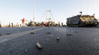 ردود أفعال دولية تقف مع الحكومة التركية ضد الانقلاب