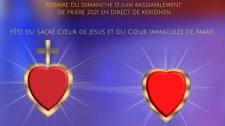 Rosaire du dimanche 13 juin, replay