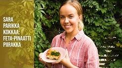 Sara kokkaa - Mehevä feta-pinaattipiirakka