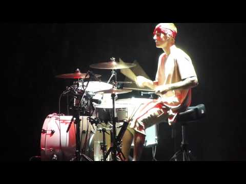 JUSTIN BIEBER DRUM SOLO: PURPOSE WORLD TOUR 5.8.16