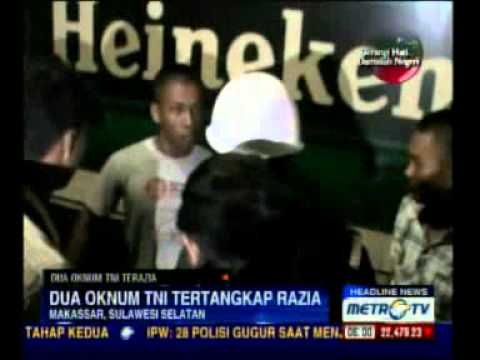 Dua Oknum TNI Terjaring Razia di Tempat Hiburan Malam