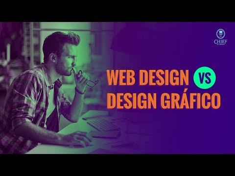 Web design vs Design Gráfico - O que faz um Designer Gráfico e um Web Designer?