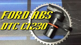 Ford Vehicles: ABS DTC C1230 Diagnosis and Repair