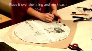 DIY circle handbag
