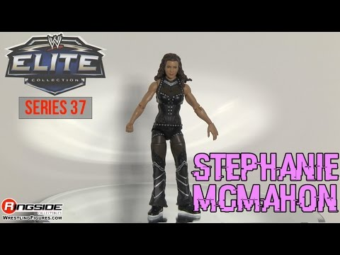 WWE FIGURE INSIDER: Stephanie McMahon  - WWE Elite Series 37 Toy Wrestling Figure thumbnail