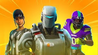 "*NEW* ""Hunting Party"" Skin Officially Revealed! (A.I.M) - All Skins & Items in Fortnite v6.22"