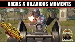 Hacks & Hilarious Moments PUBG MOBILE with Bushka
