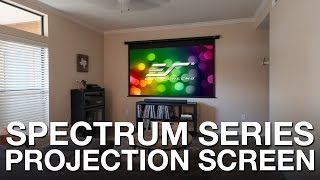 Elite Screens Spectrum Series Motorized Projection Screen