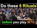 Do These 8 Rituals Before You Start a Match of Magic: the Gathering!