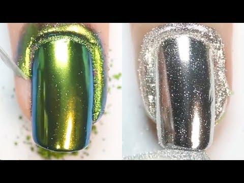 Лёгкий дизайн ногтей 2019 💅 Топ 10 Простые идеи маникюра Модные Тенденции Как сделать маникюр