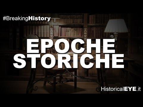 cosa sono e a cosa servono le epoche storiche ?