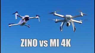 Hubsan Zino vs Xiaomi Mi 4K Video