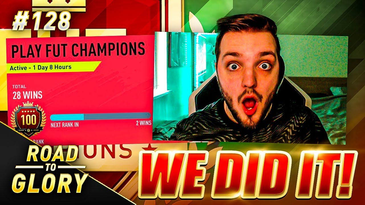 TOP 100! WE DID IT! FUT CHAMPIONS ON THE ROAD TO GLORY! FIFA 20 #128