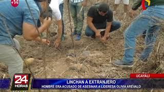 Linchan a extranjero: hombre era acusado de asesinar a lideresa Olivia Arévalo