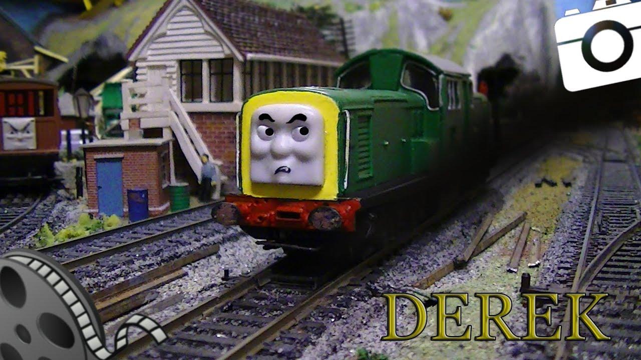 Thomas Amp Friends Derek Custom Model 00 Youtube