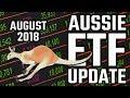 Australian ETF Update August 2018