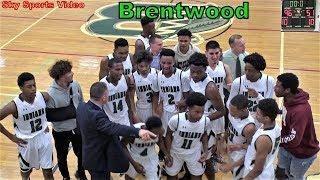Section XI. Full Game. HD. Brentwood vs Sachem East Boys Basketball