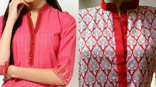 Kurti collar neck design cutting and stitching in hindi | neck design for kurti/kameez
