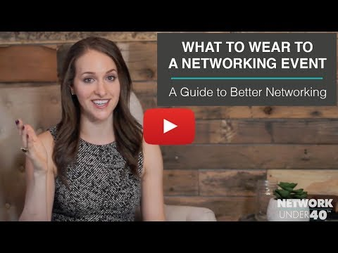 What to wear to a networking event | A Guide to Better Networking