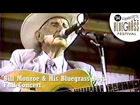 Bill Monroe & His Blue Grass Boys - Live Full Concert, Charlotte MI, 06/24/94