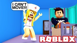 ADMIN COMMANDS VS STAFF TROLLING IN ROBLOX HOSPITAL!