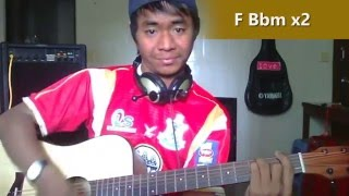 How to Play Guitar Walk You Home [GL#048] Covered by Sothea Sok