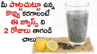 Fat Cutter Drink With Sabja Seeds and Lemon Juice Drink || Aarogya Sutra