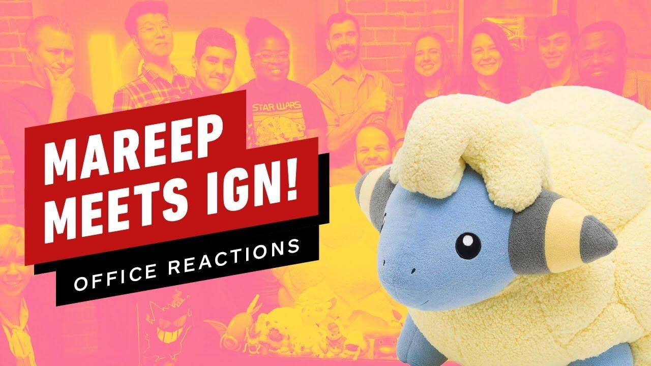 Mareep cumple IGN! Nuestras reacciones a un Pokémon de tamaño natural de $ 500 + vídeo