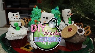 DIY SNACKS NAVIDEÑOS :) HOLIDAYS TREATS Thumbnail