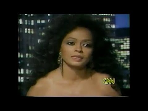 Diana Ross 1991 Larry King Live Interview, talks about Michael Jackson and more