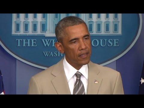 Obama: Russia behind violence in Ukraine