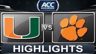 Miami vs Clemson | 2014 ACC Baske