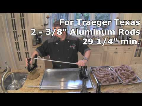 Sausage Rack For My Traeger How To Save Money And Do It