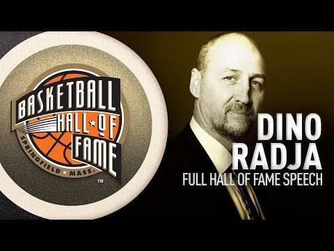 Dino Radja | Hall of Fame Enshrinement Speech