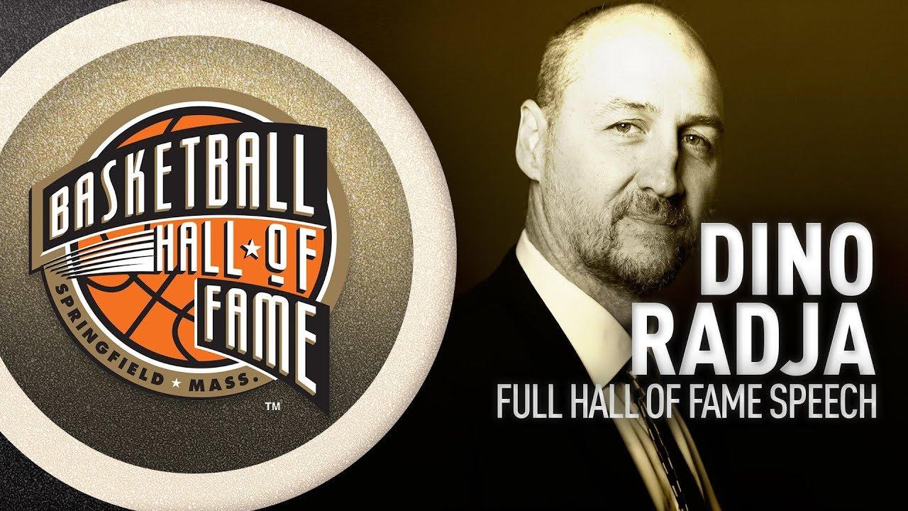 Dino Radja   Hall of Fame Enshrinement Speech