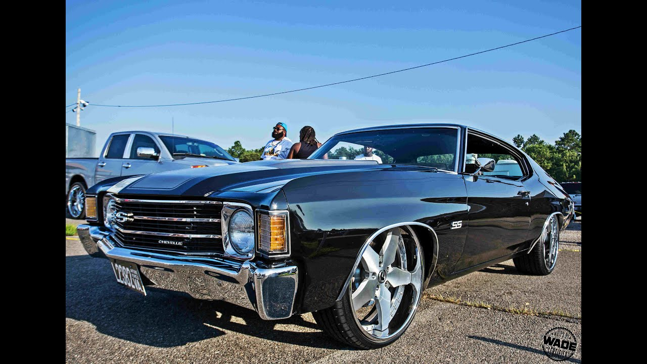 Stunt Classic : 72 Chevelle Dropped on 22\