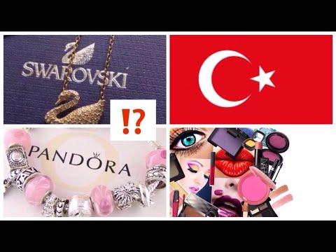 покупки в ТУРЦИИ для дома / ужасное качество SWROVSKI / как чистить браслет PANDORA ?/ сьемка в саду